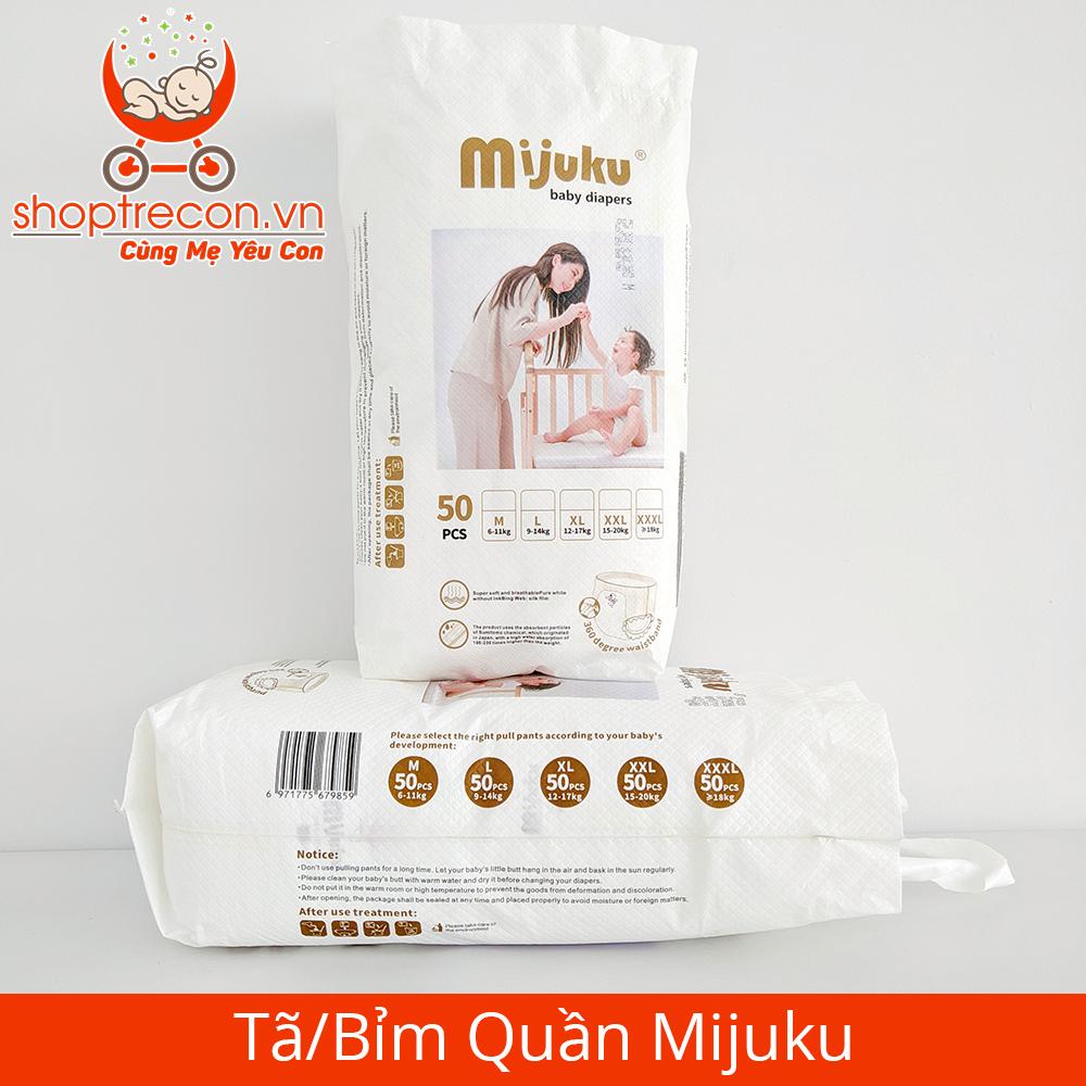 [Review Tã – Bỉm Mijuku] Tả Mijuku có tốt không? Ưu điểm gì? Của nước nào? Giá bao nhiêu?