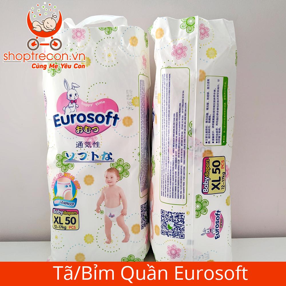 Tã – bỉm Eurosoft có những size nào?
