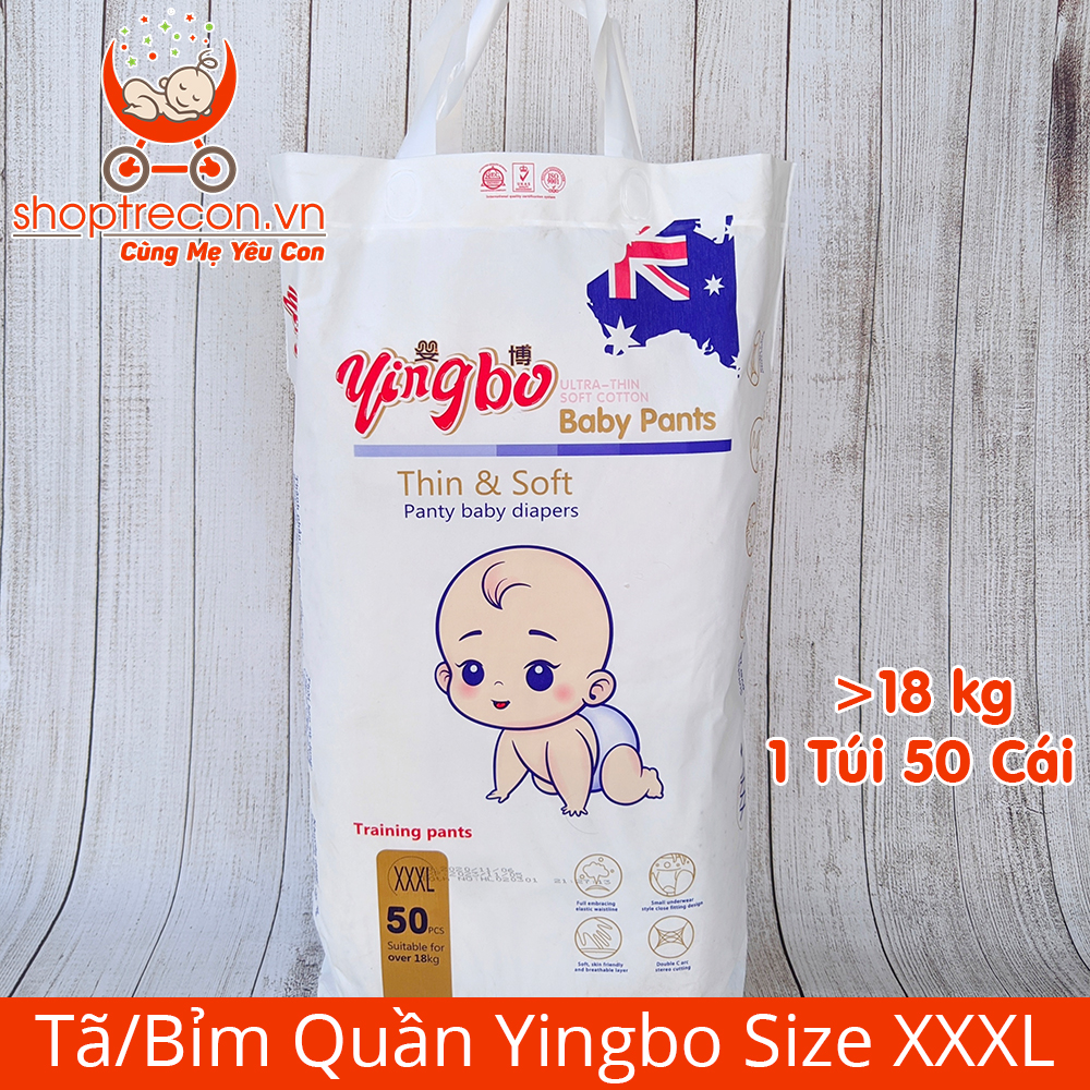 Tã – Bỉm Yingbo được sản xuất ở đâu? Của nước nào?