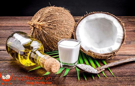 Cách trị hăm tã bằng dầu dừa