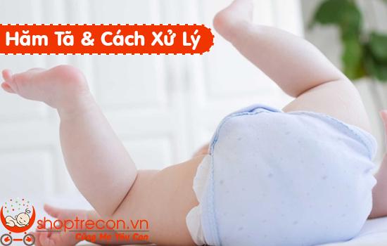 Bé bị hăm tã – Nguyên nhân và Cách điều trị hăm tã tự nhiên an toàn cho bé